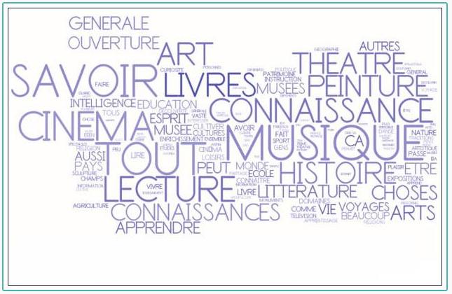 Comment les Français définissent-ils la Culture ?