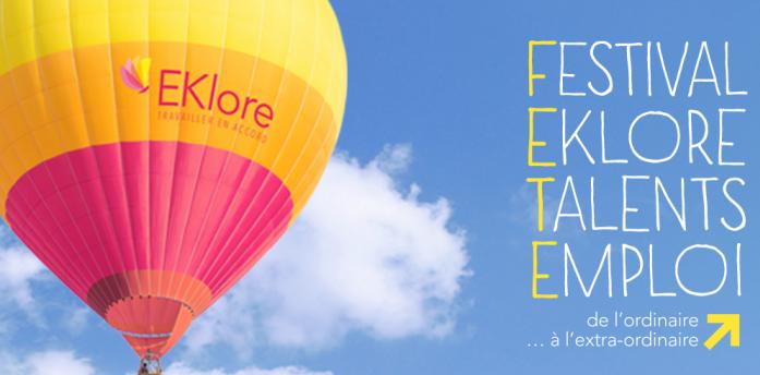 Festival EKlore : pour tous les talents avec un supplément d'âme au travail !