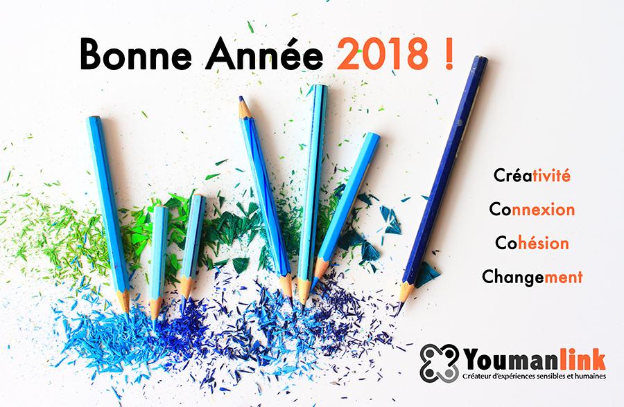 Meilleurs voeux pour 2018 !
