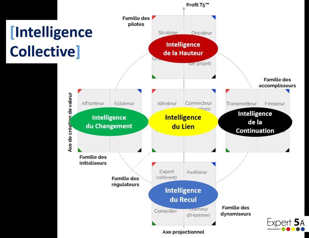 5 intelligences d'équipe map & match
